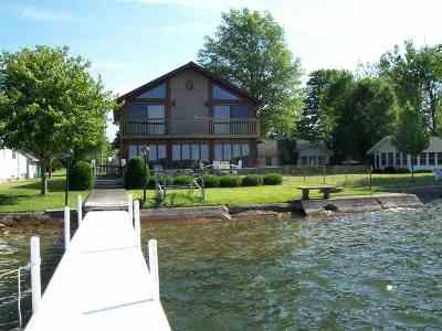 Kosciusko County Single Family Home For Sale: 10301 N Grand #PIER 331