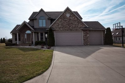 Goshen Single Family Home For Sale: 20218 Eagle Hill
