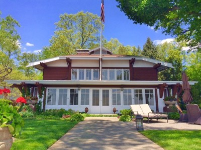 Kosciusko County Single Family Home For Sale: 6285 E Pickwick Park