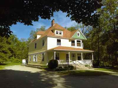 Kosciusko County Single Family Home For Sale: 11007 N State Road 13