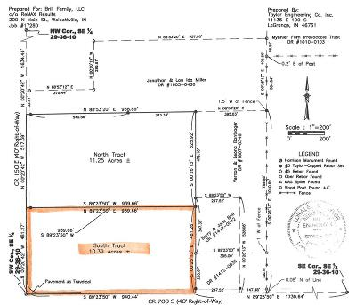 Wolcottville IN Residential Lots & Land For Sale: $105,000