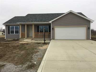 Butler Single Family Home For Sale: 622 Indepence S Bulter , In 46721 Street