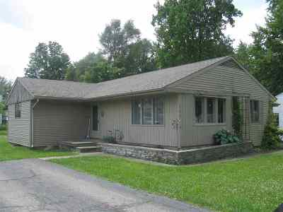 Wabash Single Family Home For Sale: 225 E Harrison
