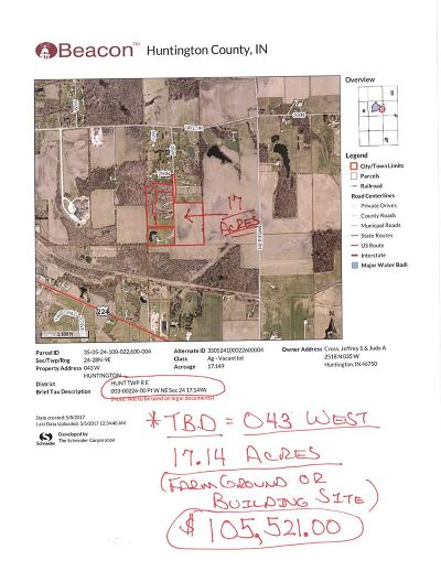 Residential Lots & Land For Sale: Tbd 043 West