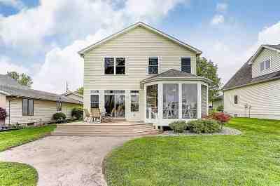 Hamilton Single Family Home For Sale: 2120 Lane 150 Hamilton Lk