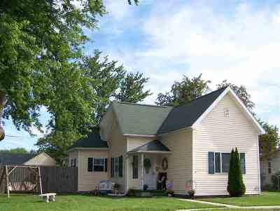 Swayzee Single Family Home For Sale: 105 E Grant