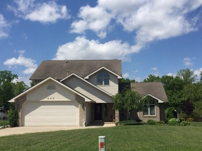 Angola Single Family Home For Sale: 295 Lane 275 Jimmerson Lk