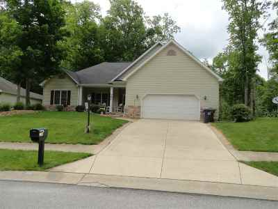 Whitley County Single Family Home Price Change: 284 S Cross Creek Way