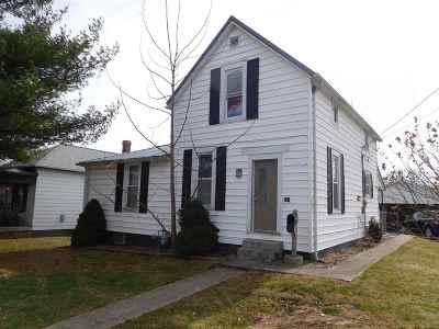 Huntingburg Single Family Home For Sale: 707 E Second Street