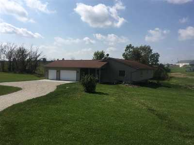 Whitley County Single Family Home For Sale: 1815 W 500 North