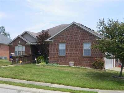 Evansville Single Family Home For Sale: 2920 Cimarron Dr