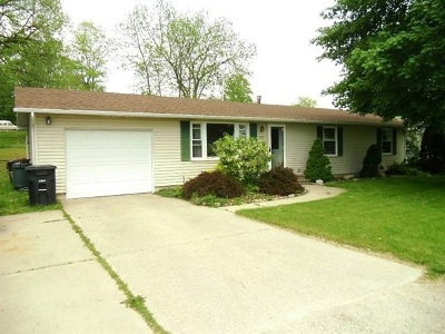 Noble County Single Family Home Cont-Accptngbackupoffers: 609 Lake