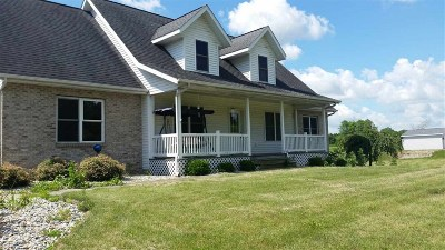 Whitley County Single Family Home For Sale: 6289 W Pook