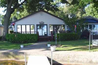 Kosciusko County Single Family Home For Sale: 9052 E Hatchery Rd