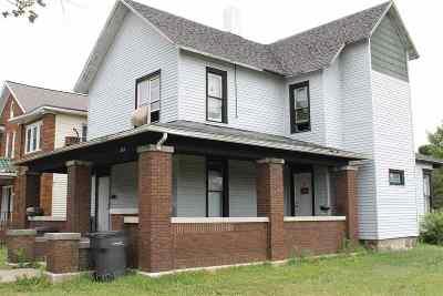 Elkhart Multi Family Home For Sale: 206 N 2nd Street