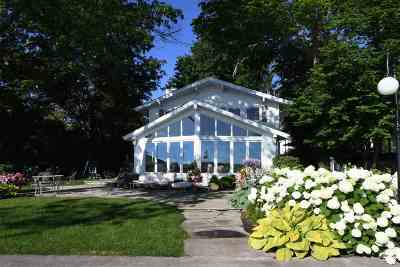 Kosciusko County Single Family Home For Sale: 11140 Ideal Beach Drive