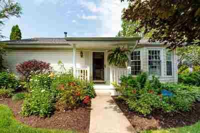 Kosciusko County Single Family Home For Sale: 8088 E Quiet Harbor