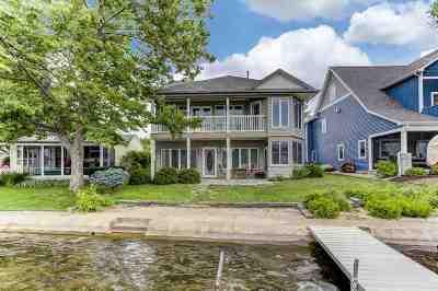 Steuben County Single Family Home For Sale: 2320 Lane 150 Hamilton Lake