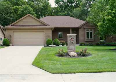 Huntington Single Family Home For Sale: 4005 N Flint Ridge Court