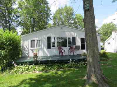 Steuben County Single Family Home For Sale: 1460 Lane 101 McClish Lake
