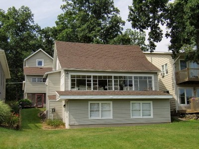 Steuben County Single Family Home For Sale: 540 Lane 280 Lake James Blvd