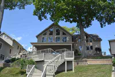 Steuben County Single Family Home For Sale: 340 Ln 221b Hamilton Lake