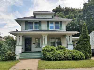 Huntington Single Family Home For Sale: 521 E Tipton