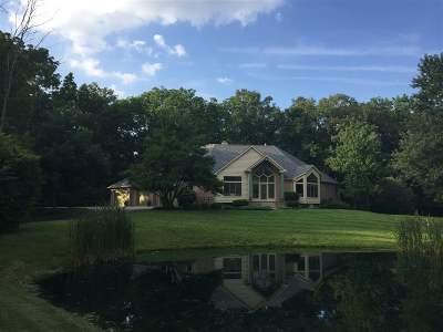 Fort Wayne Single Family Home For Sale: 10020 St. Joe Road