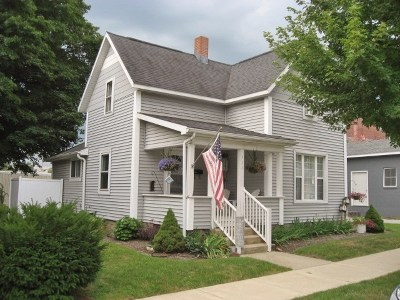 Culver IN Single Family Home For Sale: $149,900
