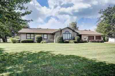 Topeka Single Family Home For Sale: 5250 W 700 S
