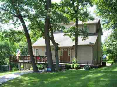 Steuben County Single Family Home For Sale: 100 Lane 270 Crooked Lake
