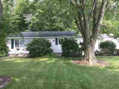 Plymouth IN Single Family Home For Sale: $159,000
