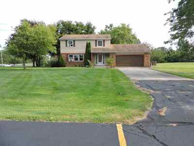 Allen County Single Family Home For Sale: 11329 Coldwater Road