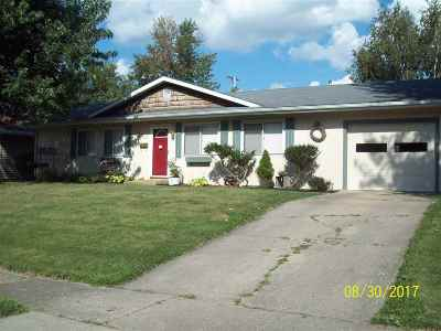 Marion Single Family Home For Sale: 1006 N Lincolnshire