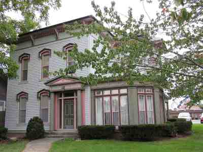 Wabash Single Family Home For Sale: 86 Walnut Street