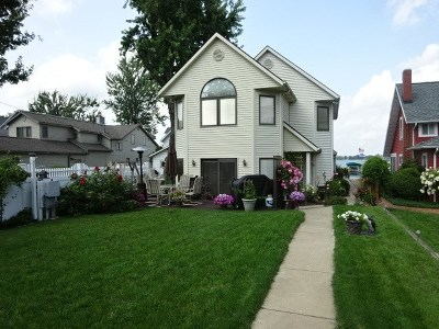 Syracuse IN Single Family Home Back On Market: $898,500