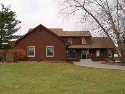 Fort Wayne Single Family Home For Sale: 15105 Windward