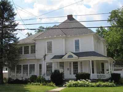 Wabash Single Family Home For Sale: 1380 Vernon