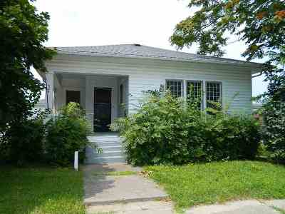 Marion Single Family Home For Sale: 424 S Gallatin