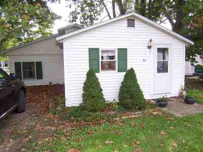 Kosciusko County Single Family Home For Sale: 53 Ems B12 Ln