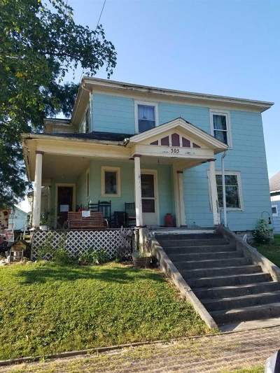 Van Buren Single Family Home For Sale: 305 W Main St Street