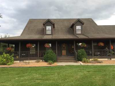 Noble County Single Family Home For Sale: 8272 N Hall Lake Rd