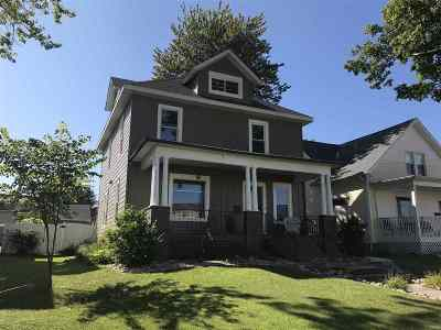 Columbia City Single Family Home For Sale: 212 S Chauncey