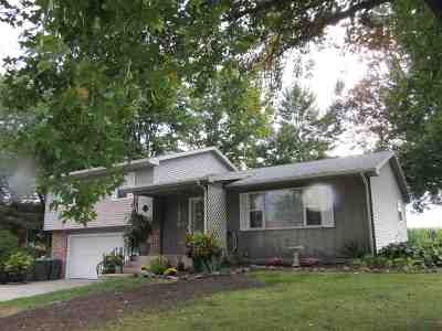 Wabash Single Family Home For Sale: 1950 Glendale Drive