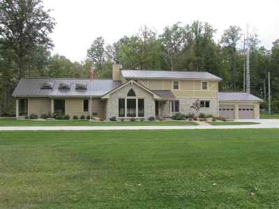 Wabash Single Family Home For Sale: 7102 S America Road