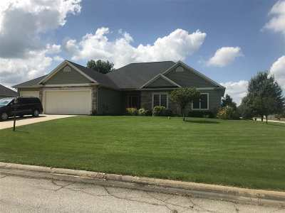 Kosciusko County Single Family Home For Sale: 2080 E Blossom Lane