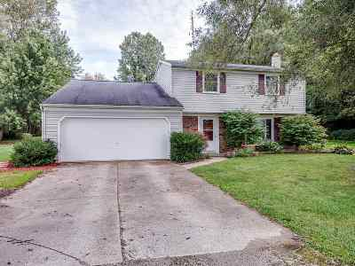 Andrews IN Single Family Home For Sale: $159,900