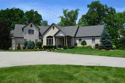 Allen County, Kosciusko County, Noble County, Whitley County Single Family Home For Sale: 17116 Coldwater Road