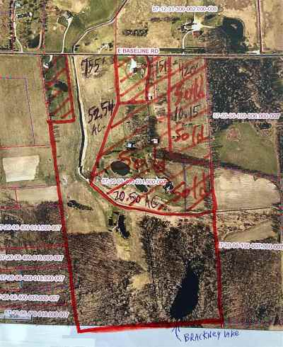 Lagrange County, Noble County Residential Lots & Land For Sale: 0294 E Baseline Road