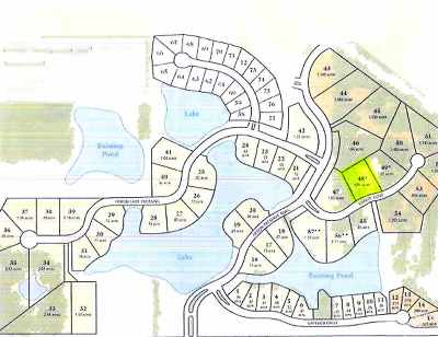 Allen County Residential Lots & Land For Sale: 14606 Egrets Court